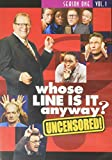 Whose Line Is It Anyway? - Season 1, Vol. 1 (Uncensored/U.S. Version) [RC 1]