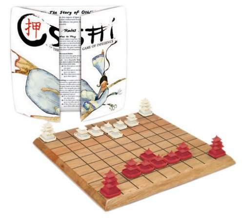 traditionelles asiatisches Brettspiel - Oshi - The Game Of Influence