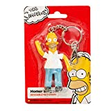 Homer Simpson Bendable 3.75 inch Figure Key Chain