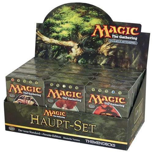 Richard Garfield - Magic: The Gathering - Haupt-Set - Themendeck »Handgemachte Kreaturen«