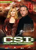 CSI: Crime Scene Investigation - Season 6 / Box-Set 1 (3 DVDs)