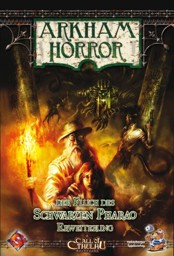 Vaughn, Rob - Arkham Horror - Fluch des schwarzen Pharao/Curse of the Dark Pharao