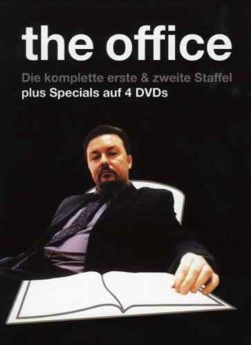 The Office Die komplette Serie (OmU) (Boxset Staffel 1+2, 4 DVDs)