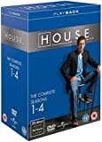 House Complete Dvd Box Set - Series 1 - 4