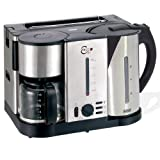 Kaffeemaschinen: BEEM D1000.641 Ecco 3 in 1 Fr�hst�ckscenter