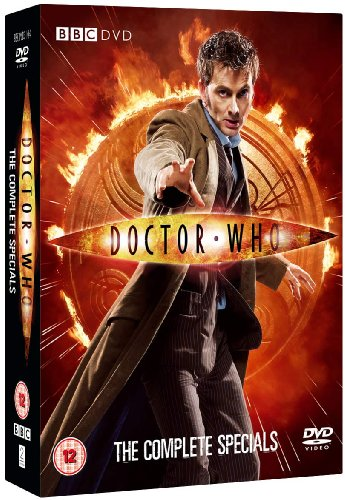 Doctor Who specials DVD cover