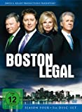 Boston Legal - Staffel 4 (5 DVDs)