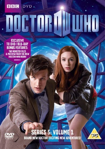 Doctor Who S5 vol 1 UK cover