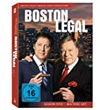 Boston Legal: Season 5 (4 DVDs)
