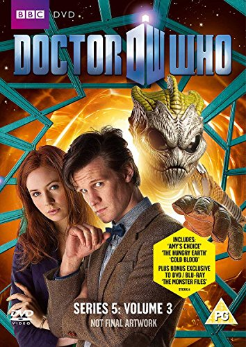 Doctor Who S5 vol 3 UK cover