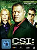 Crime Scene Investigation - Season 10 / Box-Set 1 (3 DVDs)