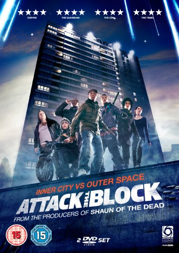 Attack the Block UK DVD cover