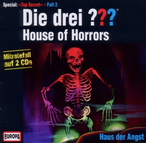 Die drei ??? - House of Horrors / Haus der Angst (Top Secret Special, Fall 2)