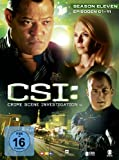 CSI: Crime Scene Investigation - Season 11 / Box-Set 1 (3 DVDs)