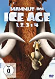 Top Angebot  Ice Age 1, 2, 3 & 4 (Mammut-Box) [4 DVDs]
