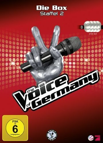 The Voice of Germany: Staffel 2 - Die Box (8 DVDs)