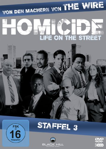 Homicide Life on the Street, Staffel 3 (3 DVDs)