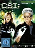 CSI: Crime Scene Investigation - Season 12 / Box-Set 1 (3 DVDs)