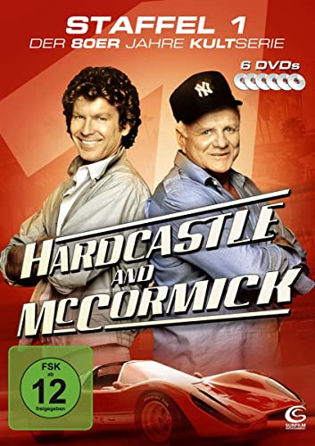 Hardcastle and McCormick Staffel 1 (6 DVDs - Amaray)