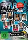 Berlin - Tag & Nacht: Staffel 11, Folgen 196-215 (Fan Edition) (4 DVDs)