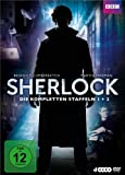 Sherlock - Staffel 1+2 (4 DVDs)