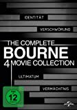 (1-4) The Complete Bourne 4 Movie Collection (4 DVDs)