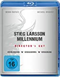 Stieg Larsson - Millennium Box (Director's Cut) [Blu-ray]