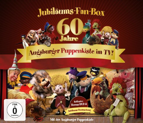 Augsburger Puppenkiste Jubiläums-Fan-Box