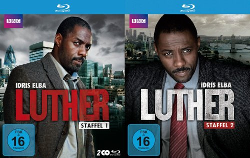 Luther Staffel 1+2 (exklusiv bei Amazon.de) [Blu-ray]