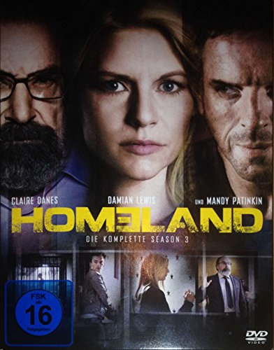 Homeland Season 3 (4 DVDs)