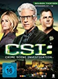 CSI: Crime Scene Investigation - Season 13 / Box-Set 1 (3 DVDs)