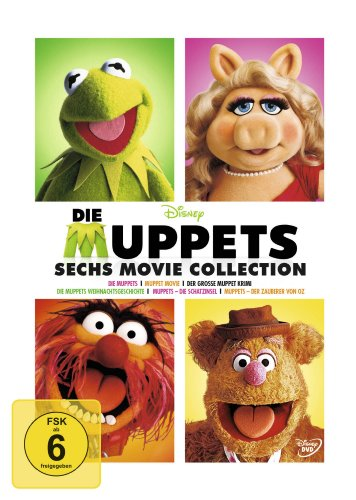 Die Muppets 6 Movie Collection (6 DVDs)
