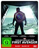 Top Angebot The Return of the First Avenger Steelbook - 3D + 2D [3D Blu-ray]