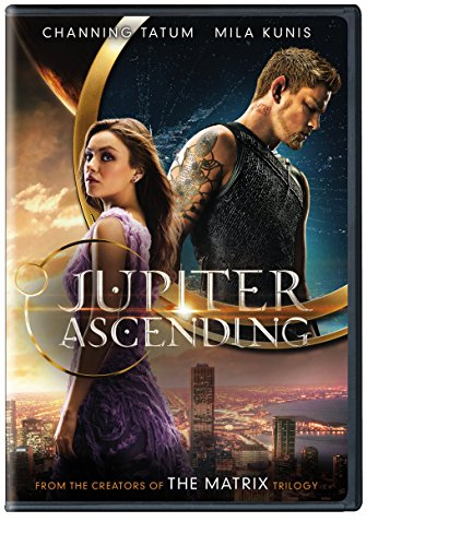 Jupiter Ascending DVD cover