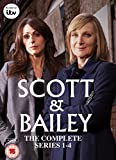 Scott & Bailey - Series 1-4 Box Set (8 DVDs)
