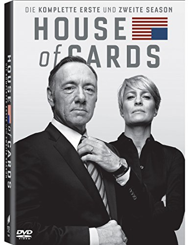 House of Cards Staffel 1 & 2 (8 DVDs)