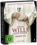 Dein Wille geschehe - Staffel 1+2 (Hardcoverbox) [Blu-ray]