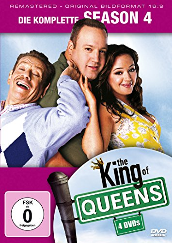 King of Queens Staffel 4 (Remastered) (4 DVDs)