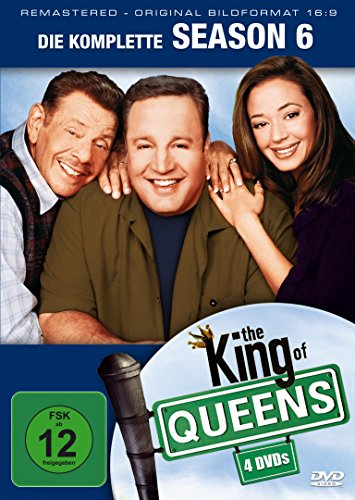 King of Queens Staffel 6 (Remastered) (4 DVDs)