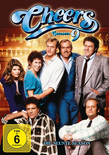 Cheers Season  9 (5 DVDs)