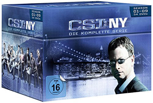 CSI: NY Komplettbox (54 DVDs)