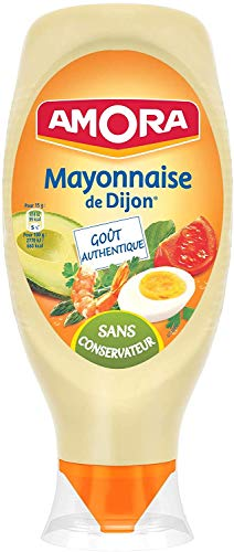 Amora Mayonnaise de Dijon Nature Flacon Souple 710 g - Lot de 3 par