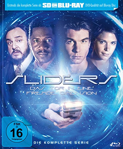 Sliders - Das Tor in eine fremde Dimension: Die komplette Serie (Limited Edition) [SD on Blu-ray]