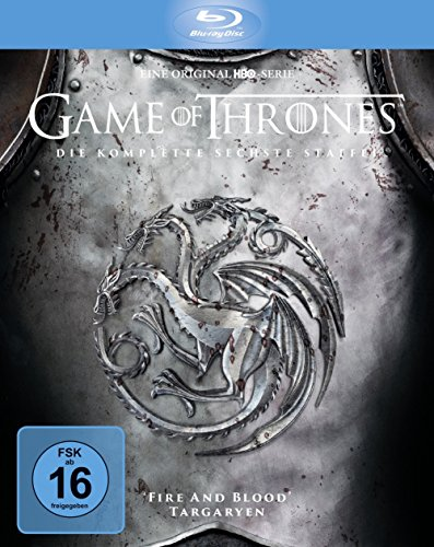 Game of Thrones Staffel 6 (Limited Edition Digipack + Bonusdisc) (exklusiv bei Amazon.de) [Blu-ray]