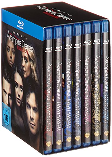 The Vampire Diaries Staffeln 1-7 (exklusiv bei Amazon.de) [Blu-ray] (Limited Edition)