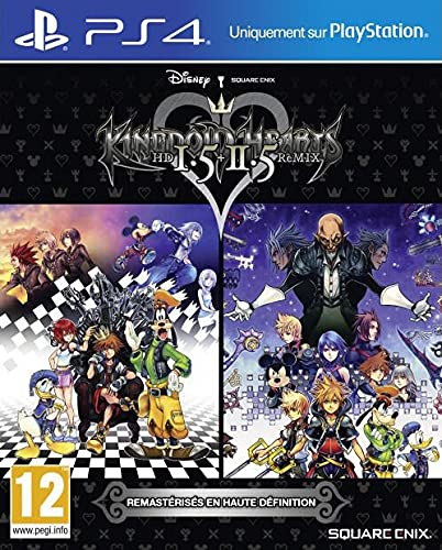 Kingdom Hearts Hd 1.5 + 2.5 Remix par