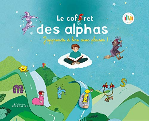 Coffret des Alphas, nouvelle édition, coffret en métal